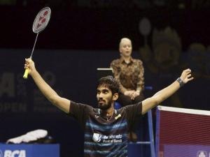 ऑस्ट्रेलियाई ओपन: चीनी खिलाड़ी को मात दे फाइनल में पहुंचे भारतीय स्टार श्रीकांत किदांबी
