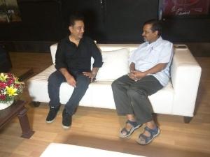 अरविंद केजरीवाल ने की कमल हासन से मुलाकात, क्या AAP में होंगे शामिल?