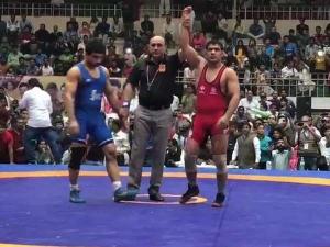 National Wrestling Championship: सुशील कुमार, साक्षी मलिक और गीता फोगाट ने जीता गोल्ड