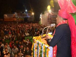 CM बन 'ठाकुर' ने पहली जनसभा में ही कांग्रेस पर लगाया बड़ा फाइनेंशियल आरोप