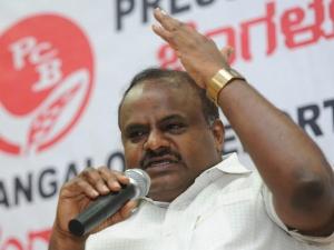 राहुल गांधी पीएम पद के लिए नंबर एक उम्मीदवार हैं- एचडी कुमारस्वामी