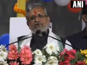 बढ़ती हुई आबादी को लेकर सुशील कुमार मोदी के विवादित बोल
