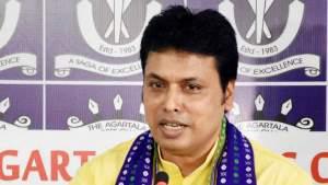 त्रिपुरा में बीजेपी सरकार की मुश्किलें बढ़ीं