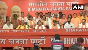 टीएमसी विधायक सुनील सिंह और 12 पार्षद बीजेपी में शामिल