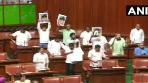 कर्नाटक:कांग्रेस ने उठाया विधायकों की सुरक्षा का मुद्दा