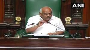 कर्नाटक: कांग्रेस के बीमार विधायक पर स्पीकर ने मांगी रिपोर्ट