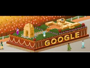 गणतंत्र दिवस पर भारतीयता के रंग में डूबा 'गूगल डूडल'