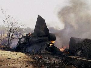 क्रैश हुआ फाइटर प्लेन मिग- 27, पायलट सुरक्षित