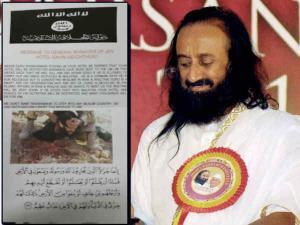 ISIS ने दी श्रीश्री रवि शंकर को जानसे मारने की धमकी