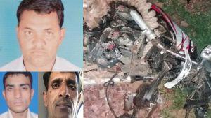 झुंझुनूं: सड़क हादसे में चूरू के 3 युवकों की मौत