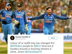 कुलदीप की हैट्रिक पर नतमस्तक हुआ क्रिकेट वर्ल्ड, ऐसे दी बधाई