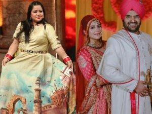 भारती सिंह ने कुछ इस तरह किया कपिल की पत्नी का स्वागत
