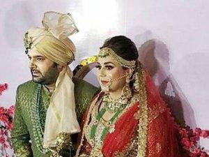 कपिल शर्मा ने की गिन्नी चतरथ से शादी, तस्वीरें वायरल