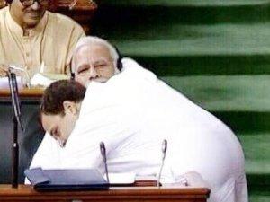 पहले झप्पी और अब शुक्रिया, तो ये है राहुल गांधी की गांधीगिरी