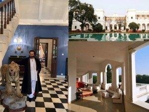 सामने आईं सैफ अली खान के आलीशान पटौदी पैलेस की तस्वीरें