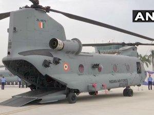 इंडियन एयरफोर्स में शामिल अमेरिकी हेलीकॉप्टर चिनुक