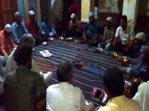 अयोध्या के सीता-राम मंदिर परिसर में हुई इफ्तार पार्टी