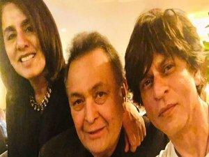 शाहरुख खान ने न्यूयार्क में की ऋषि कपूर से मुलाकात