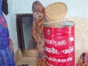 यूपी के गांव में भूखमरी से संघर्ष