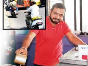 ट्रैफिक रूल तोड़ने वाले चिन्मय ने केंद्रीय मंत्री नितिन गडकरी को दिया यूनिक आइडिया