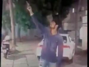 जन्मदिन पर छात्र के फायरिंग का वीडियो हुआ वायरल, फिर क्या हुआ...