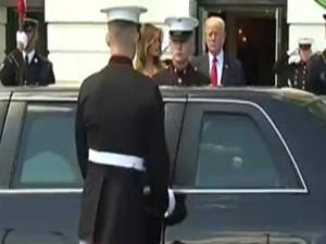 Viral Video: व्हाइट हाउस में 'मोदी की पत्नी' के लिए गार्ड ने खोला कार का गेट?