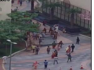 नौकरानी को पीटने पर भीड़ ने नोएडा की एक सोसायटी पर किया हमला