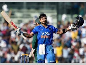 डबल सेंचुरी वाले मैच में कोहली ने जड़ा सैकड़ा, जानिए विराट पारी के बारे में खास बातें