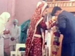 PICS: वेलेंटाइन डे पर हुई थी हनीप्रीत और विश्वास की शादी, राम रहीम ने नहीं होने दिया था हनीमून