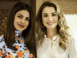 जॉर्डन की ग्लैमरस क्वीन रानिया से मिलीं बॉलीवुड सुंदरी प्रियंका चोपड़ा, बताया प्रेरणास्रोत
