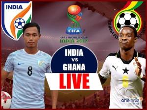 फीफा U-17 वर्ल्ड कप भारत बनाम घाना: 0-4 की हार के साथ भारत की उम्मीदें खत्म