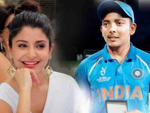 #U19CWC: (व्यंग्य) U-19 टीम के कप्तान पृथ्वी शॉ की 'मोहब्बत' ढूंढेगी अनुष्का