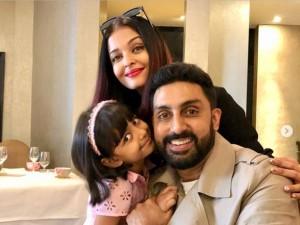 अभिषेक ने शेयर की पत्नी ऐश्वर्या और बेटी अराध्या के साथ तस्वीर, फैंस को आई पसंद