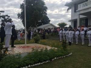 Independence Day: फिजी में सूरज की पहली किरण के साथ लहराया तिरंगा