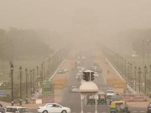 दिल्ली की हवा हुई जहरीली, AAP मंत्री ने जारी की NASA की तस्वीर