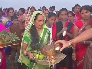 Chhath Puja 2018: छठी मईया की भक्ति में लीन बिहार, 36 घंटे का उपवास शुरू