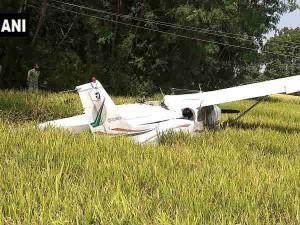 तेलंगाना में क्रैश हुआ प्राइवेट जेट, पायलट पूरी तरह से सुरक्षित