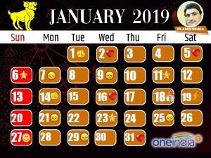 Astro Calendar: जनवरी 2019 का ज्योतिष कैलेंडर