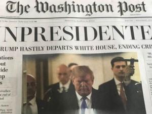 अमेरिकी राष्ट्रपति डोनाल्ड ट्रंप ने 'दिया इस्तीफा', दुनियाभर में जश्न का माहौल, जानें पूरी खबर