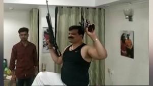 MLA कुंवर प्रणव सिंह चैंपियन भाजपा से निलंबित, बंदूकों संग डांस का वीडियो हो रहा है वायरल