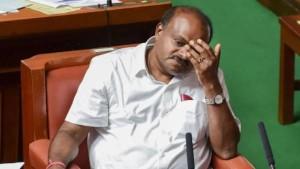 कर्नाटक विधानसभा में कुमारस्वामी का भावुक संबोधन, कहा- मैं बेहद आहत हूं और पद छोड़ने को तैयार हूं