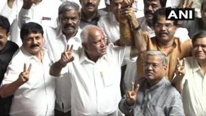 कर्नाटक में BJP बनाएगी सरकार, येदियुरप्पा होंगे मुख्यमंत्री!