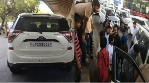 जम्मू-कश्मीर नंबर की XUV में सवार संदिग्धों का दिल्ली के आउटर रिंग रोड पर एनकाउंटर, 2 दबोचे