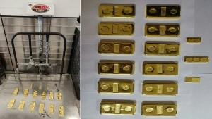 दिल्ली एयरपोर्ट पर पकड़ा गया 3 करोड़ का सोना, लाल कलर की टेप में छुपाकर करते थे स्मगलिंग