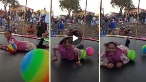 MLA रामबाई ने बच्ची की तरह उठाया चकेरी मेले का आनंद, जंपिंग पैड पर उछलते का VIDEOवायरल