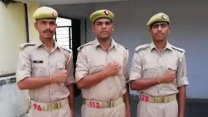 तीन सगे भाइयों की एक साथ लगी पुलिस की नौकरी, तीनों की एक ही जगह पोस्टिंग, जुलाई में ही जन्मदिन