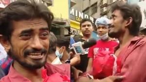 फैक्ट चेक: रिक्शा जब्त होते ही फूट-फूटकर रो पड़ा रिक्शा चालक नहीं है भारत का