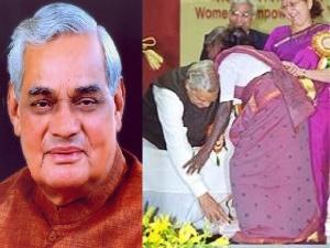 जब अटल बिहारी वाजपेयी ने छुए थे तमिलनाडु की इस महिला के पैर