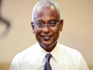 मालदीव चुनाव में मौजूदा राष्ट्रपति को इब्राहिम मोहम्मद सोलिह ने हराया, भारत के लिए अच्छे संकेत
