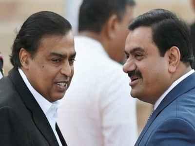 mukesh ambani-gautam adani-बीजेपी ने लगाया आरोप-यूपीए सरकार ने अबानी और अडानी को दिया था 1,85,000 करोड़ का लोन